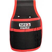 Карман-чехол поясной 8 отделений для гвоздей и инструментов YATO18,5х10х27см