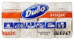 Туалетная бумага Диво Бизнес Basic (2 слоя, 130 листов) - 16 рулонов