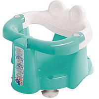 Сиденье для купания с антискользящим покрытием и термодатчиком Crab зеленый (38717230)