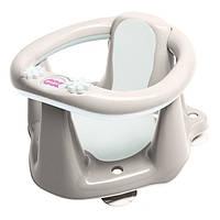 Сиденье для купания с антискользящим покрытием и термодатчиком OK Baby Flipper Evolution серый (37990035/20)
