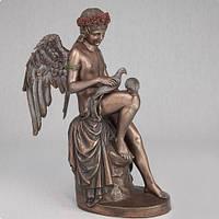 """Статуэтка """"Амур с голубями"""" (26 см) символ любви"""