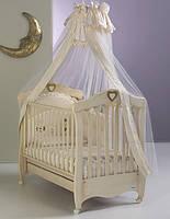 "Детская кроватка ""EMILY ANTIQUE IVORY"" Бежевый бук (EMILY ANTIQUE IVORY)"