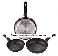 Набор сковородок с мраморным покрытием Edenberg Eb-1731 (20, 24, 28 см)