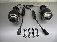 LED линзы ближнего/дальнего света М612. комплект., фото 1