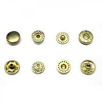 Кнопка рубашечная VТ-2, 10 мм. золото
