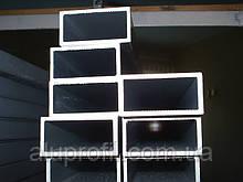 Алюминиевый профиль — труба алюминиевая прямоугольная 40х20х2 Б/П