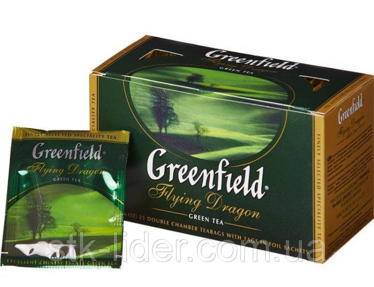 "Чай  зеленый  25 пакетов ""Greenfield"""