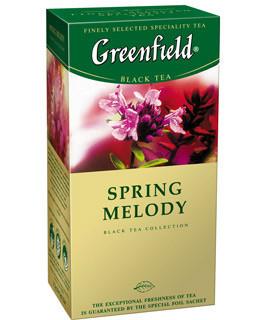"Чайчерный со вкусом чебреца  25пакетов  ""Greenfield"""