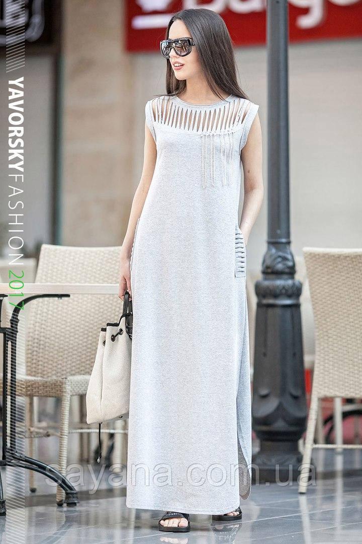 """Женское длинное платье """"Диана"""".  Вс-6-0517"""