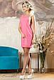 Красивое  летнее  платье 2139 розовый, фото 2