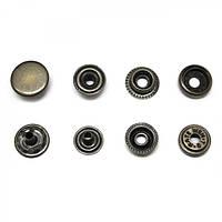 Кнопка сталь D15mm №61 antic (720/уп) PRESMAK
