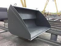 Ковш усиленный на телескопический погрузчик Manitou, JCB, CLAAS, BobCat, Massey Ferguson 2.5м³ EURO