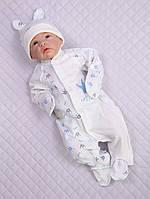 """Комбинезон для новорожденного """"Prince"""" + колпачок"""