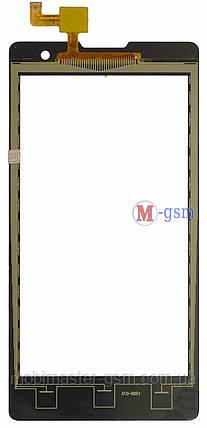 Сенсор (тачскрин) для телефона Gigabyte GSmart Classic Lite ver2 черный, фото 2