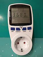 Энергометр (измеритель мощности и расхода электроэнергии) TM55 Feron 3680W 230V