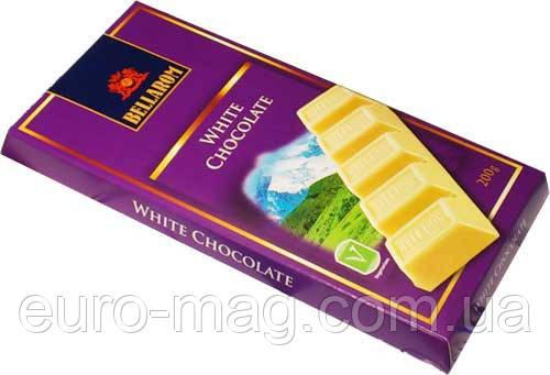 "Шоколад ""Bellarom"" натуральный белый, 200г (Германия)"