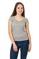 Спортивная футболка Code Original цвет серый размер 42-44 B21-1