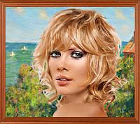 """Стилизация под живопись. Портрет """"в образе""""."""