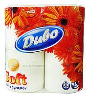 Туалетная бумага Диво Soft белая (2 слоя, 150 листов) - 4 рулона