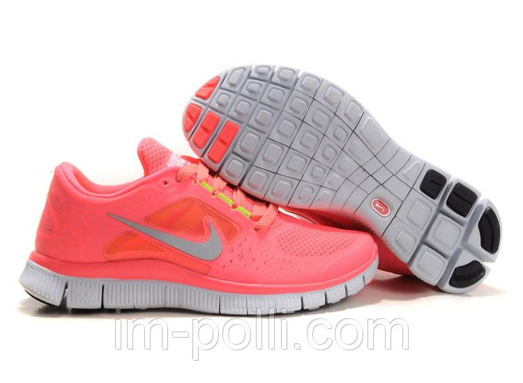 Кроссовки женские Nike Free Run 5.0 розовые