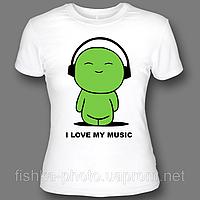 Купить футболку с надписью