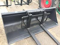 Ковш усиленный на телескопический погрузчик Manitou, JCB, CLAAS, BobCat, Massey Ferguson 1м³ EURO
