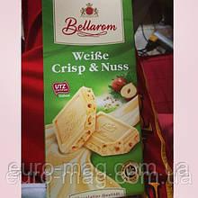 """Шоколад """"Bellarom"""" натуральный белый шоколад с рублеными орехами (12%) и рис хрустящий (6%), 200г (Германия)"""