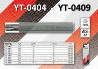 """Насадка отверточная YATO """"Torx"""" T25, l=75мм S2"""