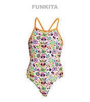 Сдельный купальник для девочек Funkita Crazy Critters FS34, фото 1