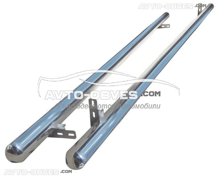 Труби бічні для Fiat Doblo 2010-2014-..., кор (L1) / довга (L2) бази, Ø 42 | 51 | 60 | 70 мм