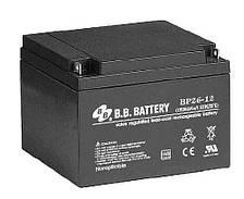 Аккумуляторная батарея B.B. Battery BP 26-12 (12V, 26 Ah)