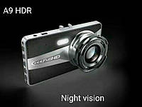 Видеорегистратор А9 HDR Full HD(2 камеры)