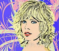 Портрет Поп арт на художественной бумаге