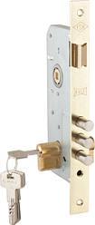 Корпус замка врезного цилиндрового KALE 2000 (45 mm) (латунь) 5 кл.