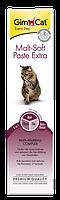 GimCat Malt Soft Extra паста для выведения шерсти,200г (417127)