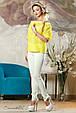 Блуза 2138 желтый, фото 4