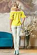 Блуза 2138 желтый, фото 5
