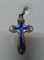 Крестик (овал) на присоске