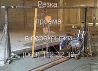 Алмазная резка бетонных полов и перекрытий