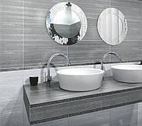 Керамическая плитка Керамин Манхеттен 1п, 3п серый, бежевый