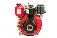 Двигун дизельний Weima WM178FЕ (вал під шліци) 6.0 л. с., ел. старт, фото 1