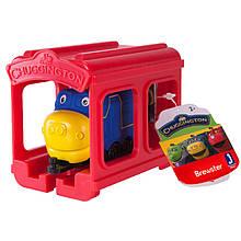 Паровозик Брюстер с гаражом
