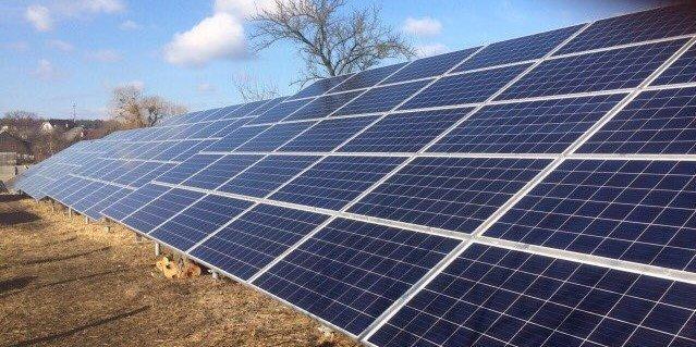 """Солнечная электростанция под """"зеленый тариф"""" 30 кВт"""