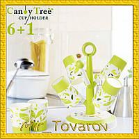 Вешалка сушилка под стаканы  Candy Tree 6+1