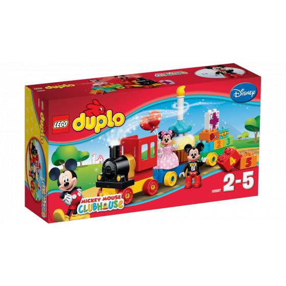 Конструктор Lego Duplo Парад на День Народження Міккі і Мінні 10597