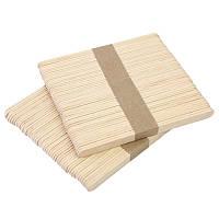 Шпателя деревянные широкие 100шт