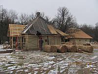 Камышовая крыша, кровля из камыша