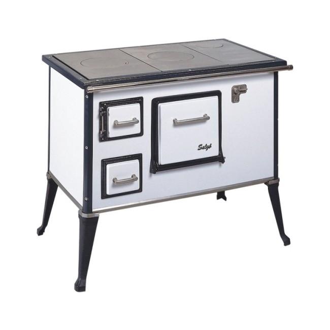 Кухонно-отопительная печь Wamsler Salgo-правая  6 кВт