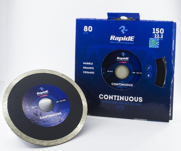 Круг (диск) алмазный 180*22.2 по плитке RapidE