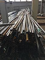 Труба для изготовления забора (оградки) стальная новая профильная , прямоугольная  20х20х0,8 мм